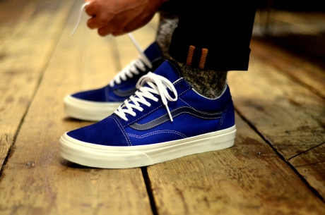 VANS. January 2014. Vans Oldskool (Vintage) True Blue Black Iris . a6693b890c61