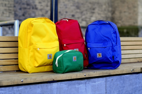 Carhartt Watch backpack in fresh colors! Red