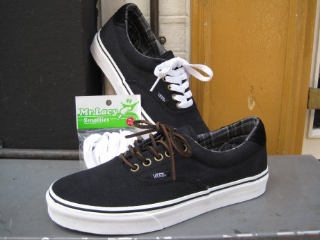 vans veters zwart